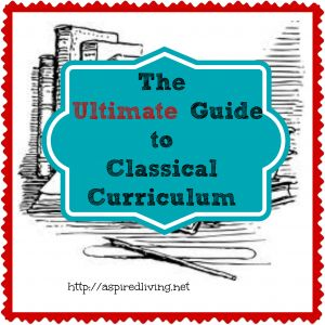 Did you know Classical and Charlotte Mason styles of homeschooling have some similarities?  This is a nice Classical resource if my CM friends want to take a peek.