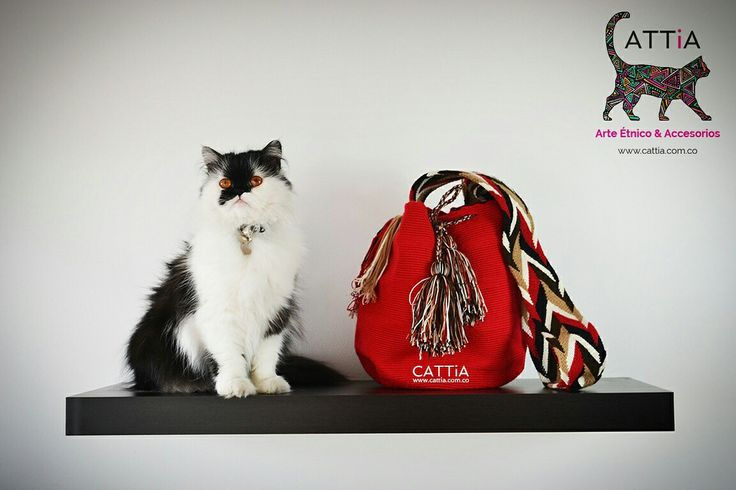 Wayuu Bags - Persian cat