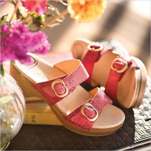 Keep things casual and comfortable in Dansko's Sophie Slide Sandal.