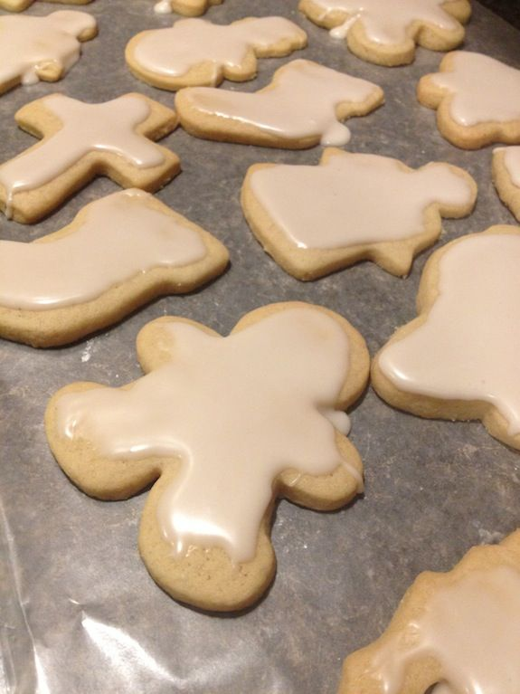 Dairy-free Christmas Cut-Out Sugar Cookies | My Wise Mom