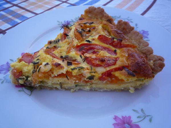 Francouzský slaný koláč quiche: Jednoduchý recept