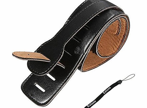 HeroNeo® Estone Adjustable Soft PU Leather Thick Strap For Electric Acoustic Guitar Bass Black No description (Barcode EAN = 0520345295362). http://www.comparestoreprices.co.uk/bass-guitars/heroneo®-estone-adjustable-soft-pu-leather-thick-strap-for-electric-acoustic-guitar-bass-black.asp