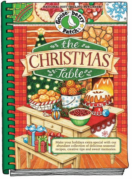 *NEW* Gooseberry Patch The Christmas Table Cookbook Giveaway