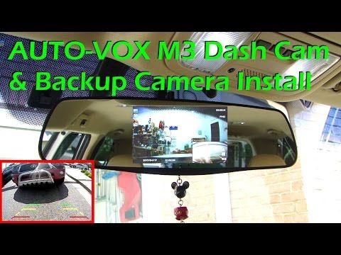 AUTO-VOX M3 Dash Cam & Backup Camera System – INSTALL - YouTube