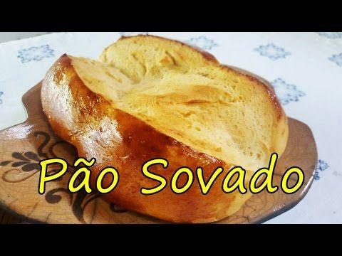 Pãozinho doce, sovado a mão - YouTube