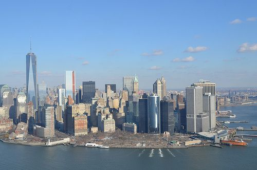 New York, Sehenswürdigkeiten und Helikopterflug