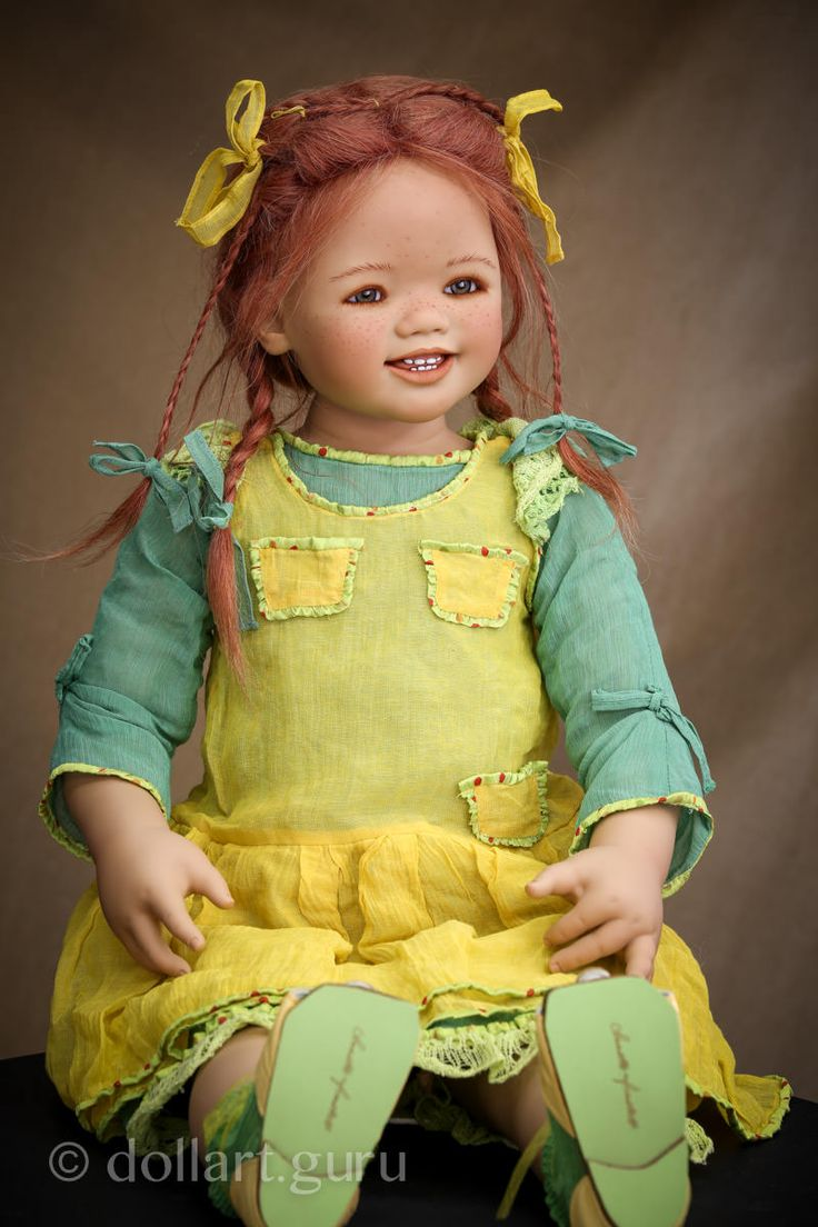 Sanrike. Коллекционная кукла Аннетт Химштедт