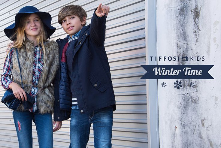 TIFFOSI KIDS | Lookbook October - Winter Time http://www.tiffosi.com/lookbook/kids.html ‪#‎tiffosi‬ ‪#‎tiffosikids‬ ‪#‎jeans‬ ‪#‎denim‬ ‪#‎girlcollection‬ ‪#‎boycollection‬ ‪#‎fw15‬ ‪#‎fwcollection‬ ‪#‎collection‬ ‪#‎new‬ ‪#‎kids‬ ‪#‎trend‬