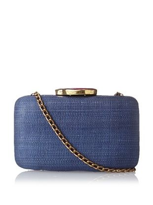 52% OFF KAYU Women's Sophie Clutch Bag with Agate Accent, Blue