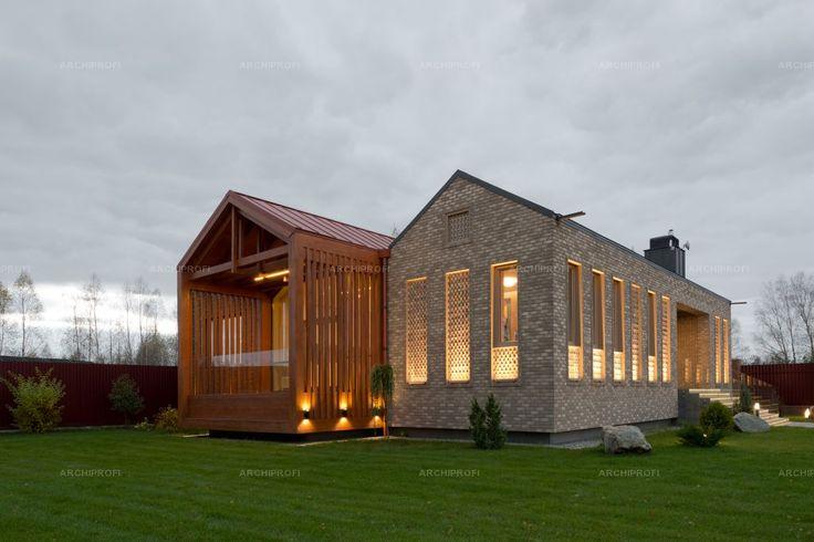 Дом в Шатуре, Архитектор, Сергей Колчин