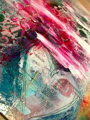 mixed media art.....journal inspiration ...BTW,Check this out: http://artcaffeine.imobileappsys.com