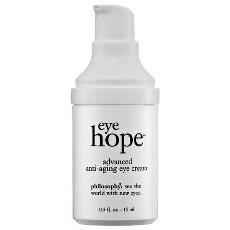 Philosophy: Eye Hope Advanced Anti-Aging Eye Cream: Consigue humectación y protección para el área delicada de los ojos.