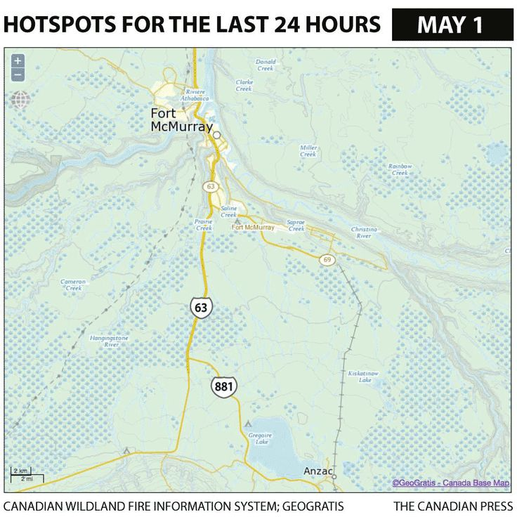FORT MCMURRAY 24 HOUR HOTSPOTS GIF