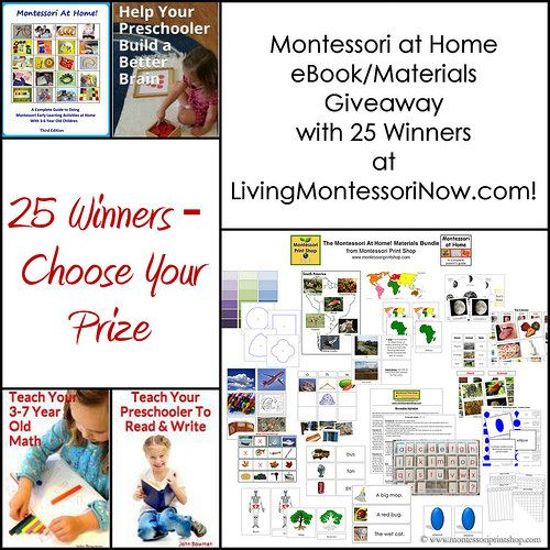 Blog post at LivingMontessoriNow.com : The giveaway is now closed. The winners are announced on the Rafflecopter form near the bottom of the post and will receive emails from John[..]