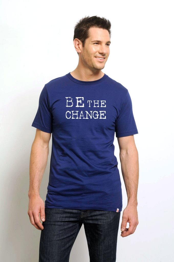 Be The Change - Mens - Blue  $34.50