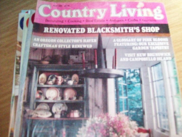 country living magazine back issue may