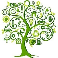Love this image representing green living. If anyone knows of a vector version, please tell me :-)
