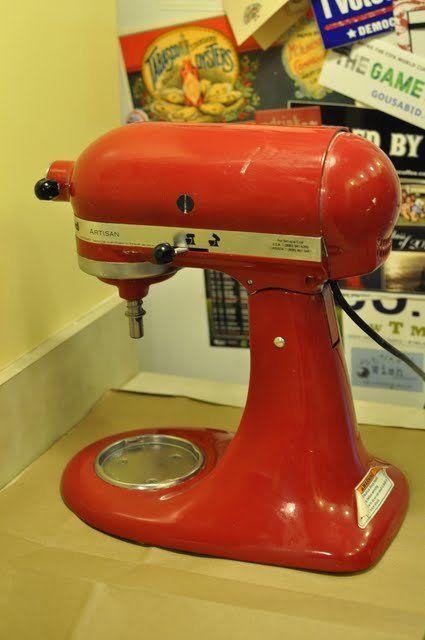 disassembling and reassembling a KitchenAid mixer