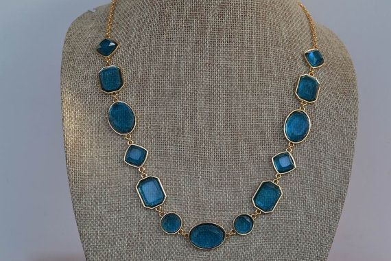 2013 Elegant Blue Crystal Stone Candy Colors Beaded Wedding Party Statement   Bib Necklace Choker