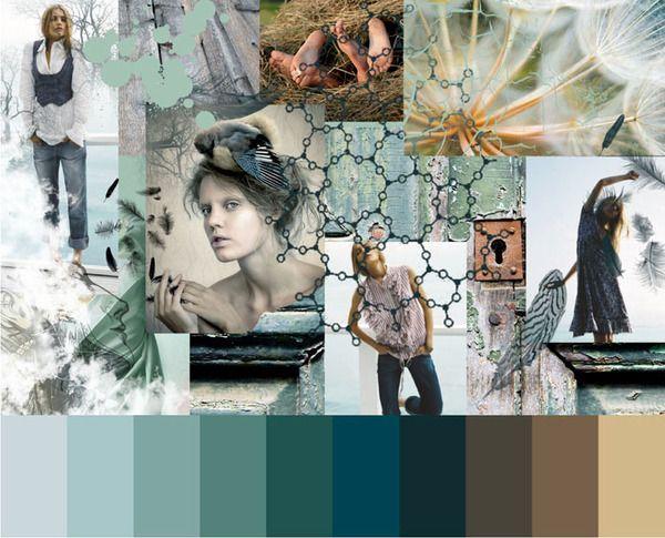 Concept Boards by Mayya Cherepova, via Behance