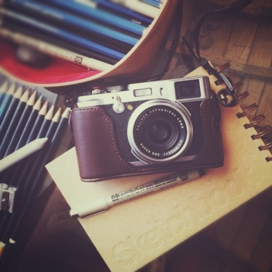 """I bought a Fuji X100 last week.  It is the best """"point and shoot"""" I've ever used.  Absolutely astounding."""