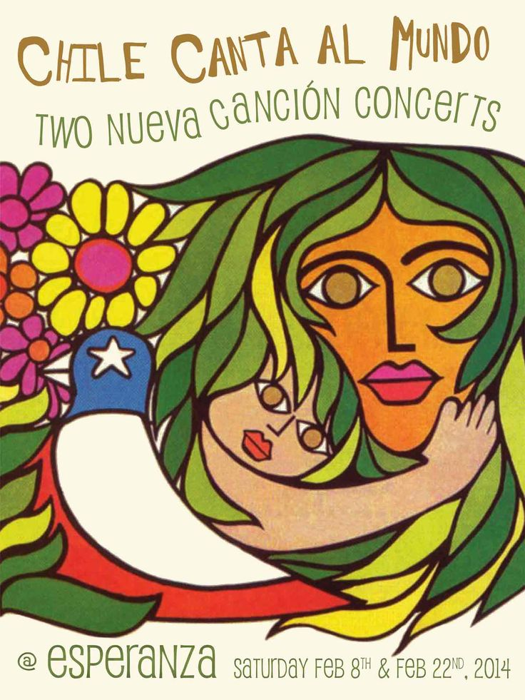 Chile Canta al Mundo: Two Nueva Cancion Concerts :: www.esperanzacenter.org