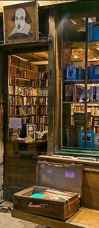 """Instead of being a bonafide bookseller I am more like a frustrated novelist"" George Whitman, Late owner of Shakespeare & Company, Paris"