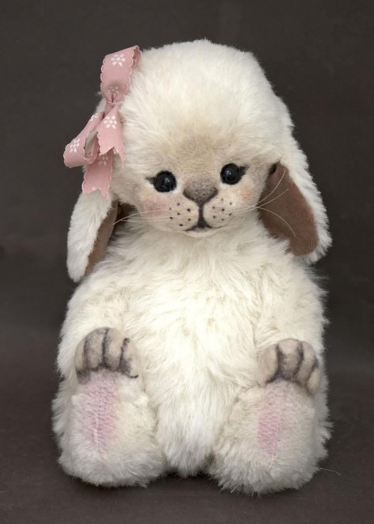 Three O'Clock Bears: Yasmin Le Bunny available for Adoption