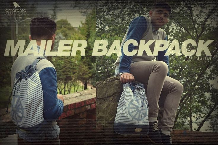 Mailer backpack marinera