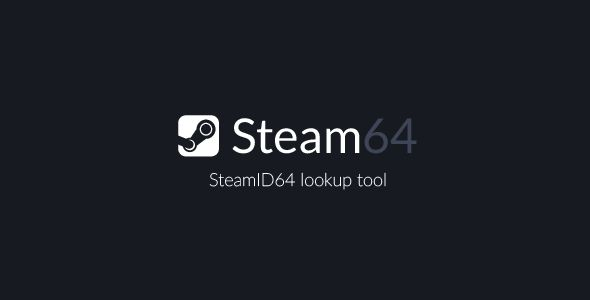 Steam ID64 Lookup Tool . This tool allows you to enter a steam profile url and find the SteamID64 using the official steam