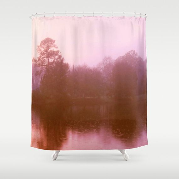 1000 ideas about pink shower curtains on pinterest for Pink brown bathroom ideas