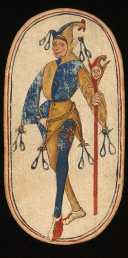 Knave (1), from the Cloisters set of fifty-two playing cards, ca. 1470–1485, South Netherlandish.