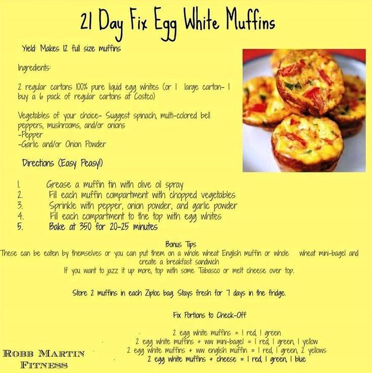21-Day Fix Egg White Muffins