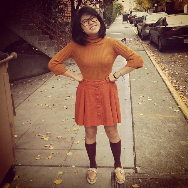 Pin for Later: 35 Work-Appropriate Halloween Costumes That Keep It Classy Velma, Scooby-Doo
