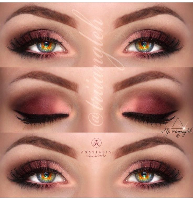 1000 Images About Makeup On Pinterest Red Eyeshadow