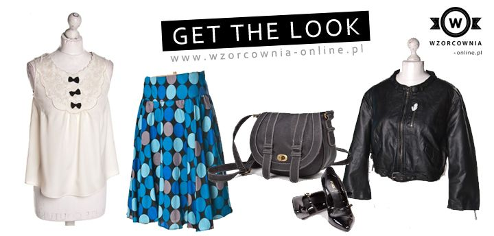 Get the look with #Wzorcownia!
