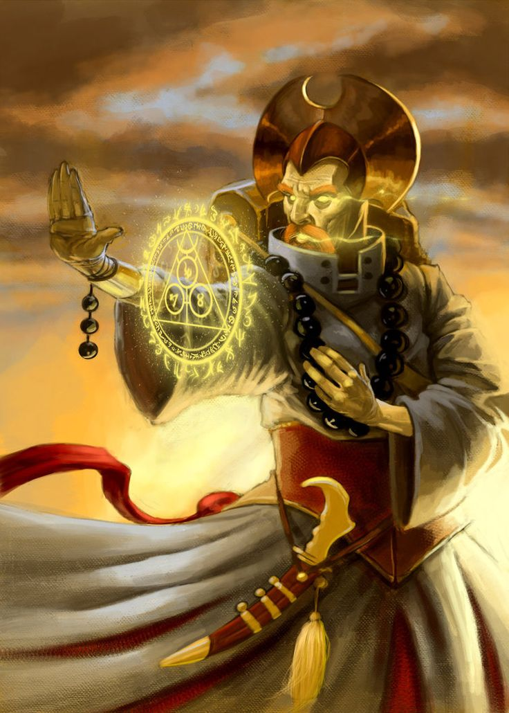Dellinger - Dwarf Monk - Way of the Soul Sun