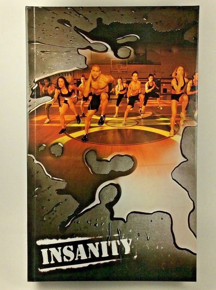 Beachbody Insanity Workout Complete 10 DVD Set 60 Day