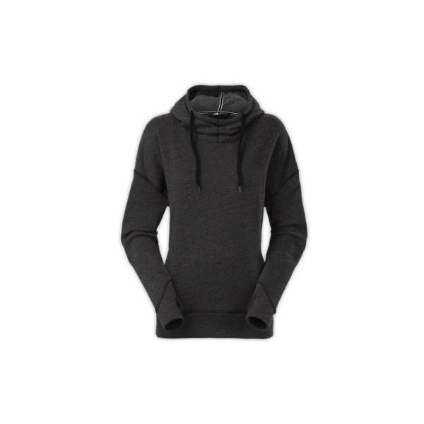 2085f33a3d0 The North Face Women s Emerson Pullover Hoodie Sweatshirt ( 42) ❤ liked on  Polyvore featuring