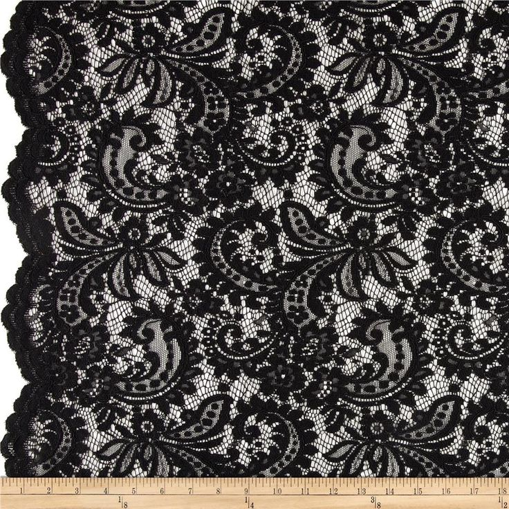 Telio Amelia Stretch Lace Black | Beautiful, Overlays and Lace