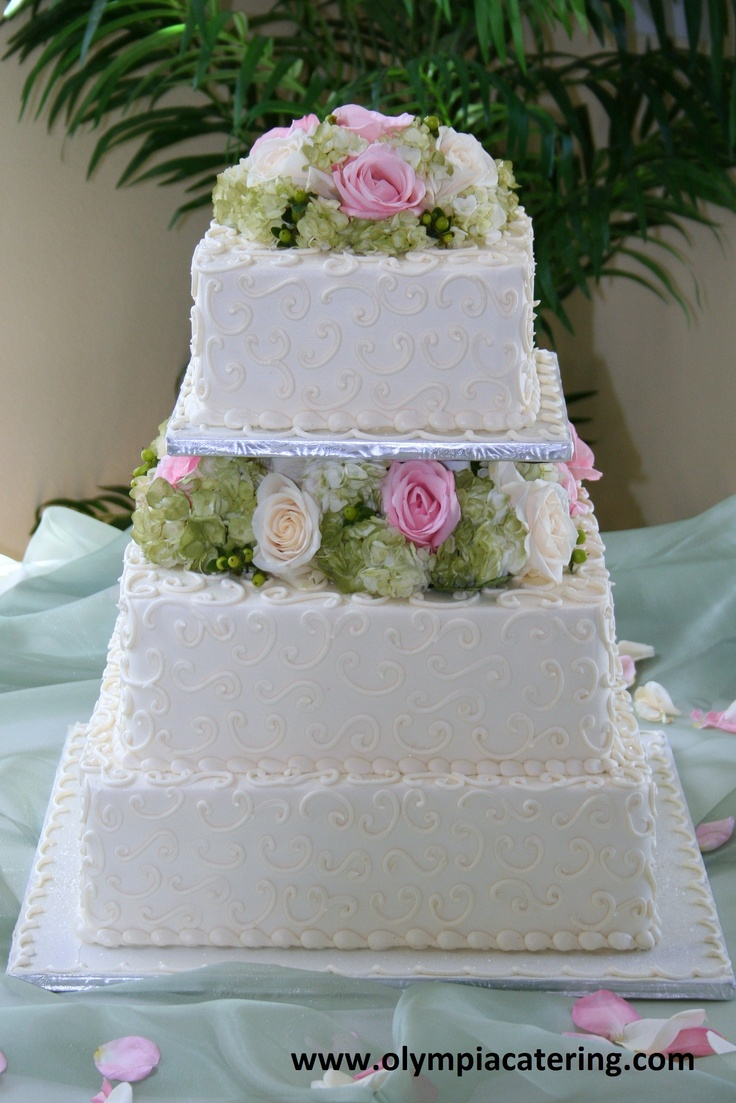 square wedding cake with flowers 73 best images about wedding cakes on 20436
