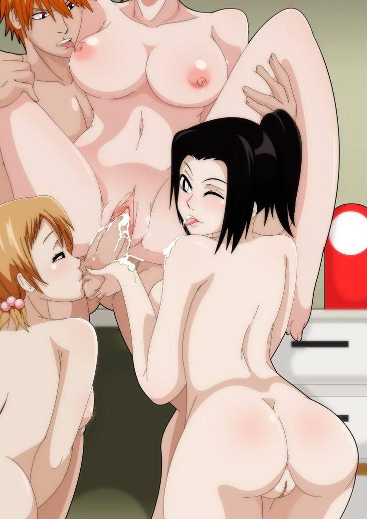 Would bleach ichigo and karin hentai athletic body