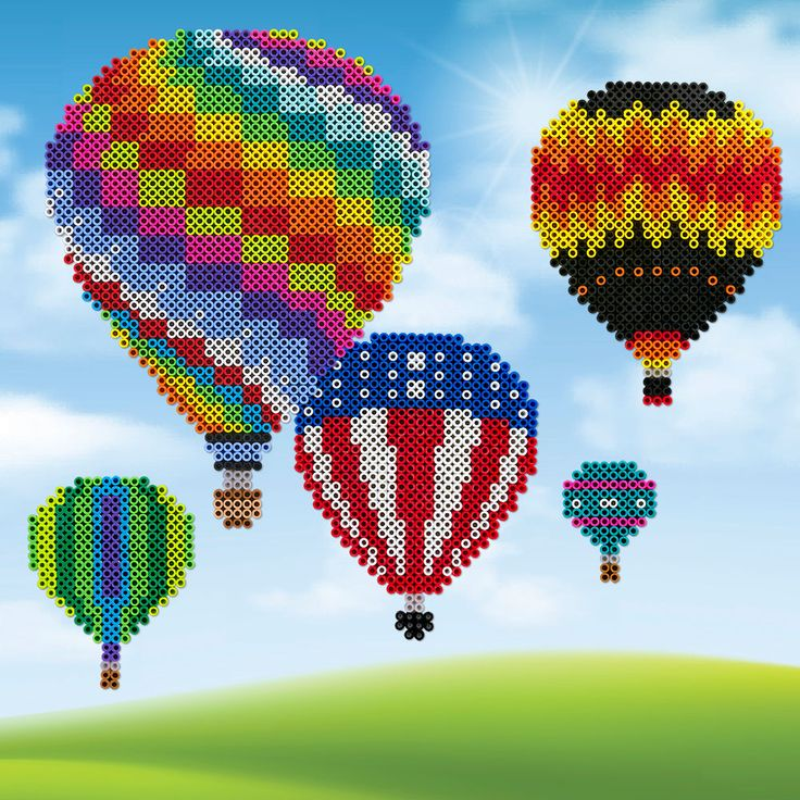 pin clouds perler beads bead com with balloon pinterest air hot s
