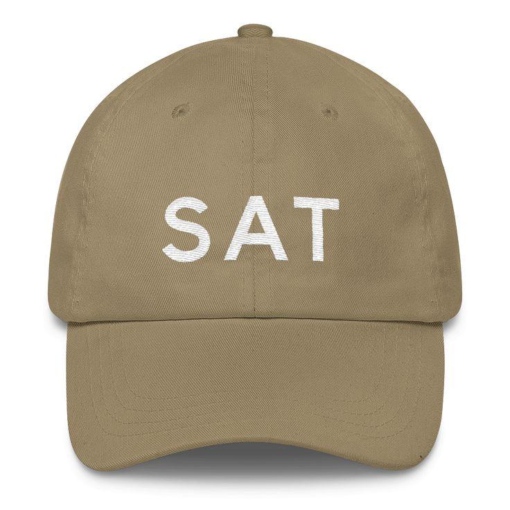 SAT San Antonio Airport Code Classic Dad Cap