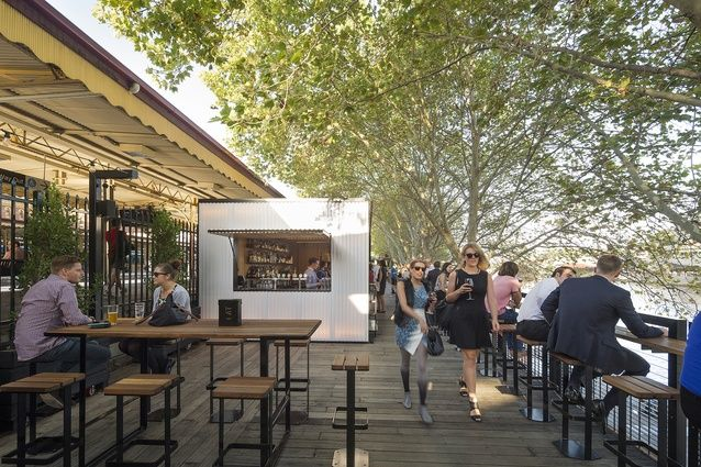 Arbory Bar and Eatery by Jackson Clements Burrows Architects.