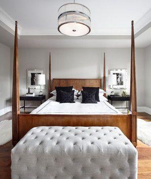 Transitional Bedroom Benjamin Moore And Bedrooms On Pinterest