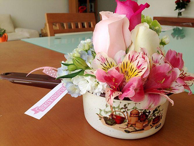 167 best images about arreglos flores on pinterest - Macetas originales para plantas ...