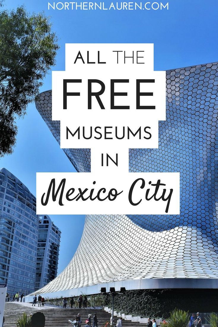3.If you want a budget-friendly guide to Mexico City, this is the post for you - I've sourced all the free museums in Mexico City, so you don't have to!
