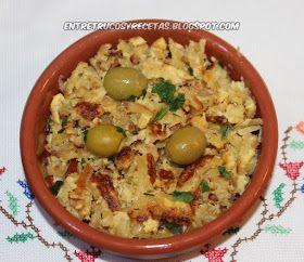 """Bacalao Dorado, plato típico portugués. El Bacalao Dorado o """"Bacalhau à Brás"""" es uno de los platos más demandados de la cocina po..."""