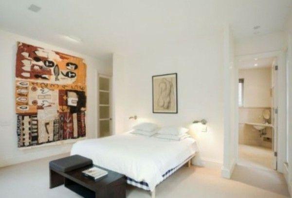 Ruang Putih Dengan Dekorasi Modern